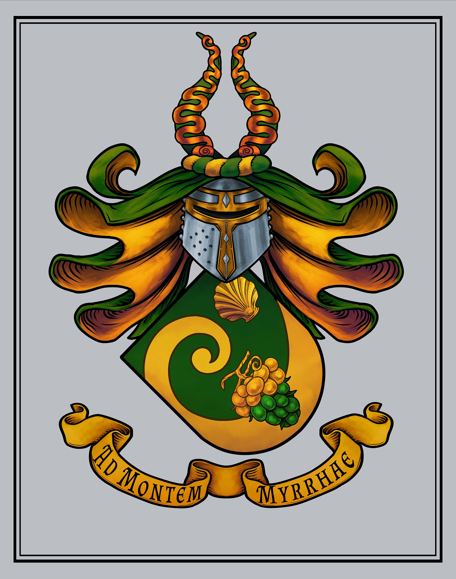Kalter Coat of Arms by Nick Truvor